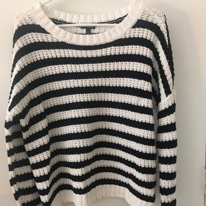 Stripped sweater from Express